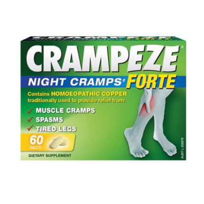 Relief from night cramps