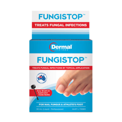 Treat fungus