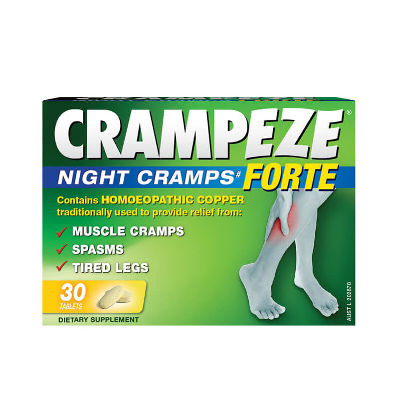 Relief from cramps