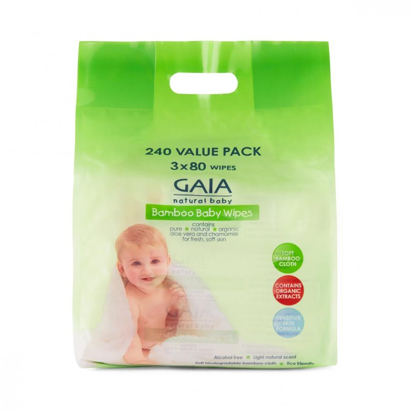 Gaia Wipes 240