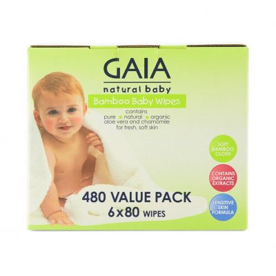 Gaia Wipes 480