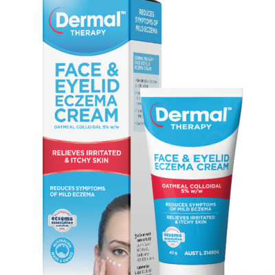 Dermal Therapy Face & Eyelid Ecz Cream 40g