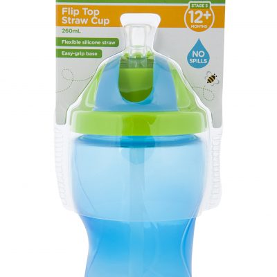 Flip Top Straw Cup_Blue INPACK HR